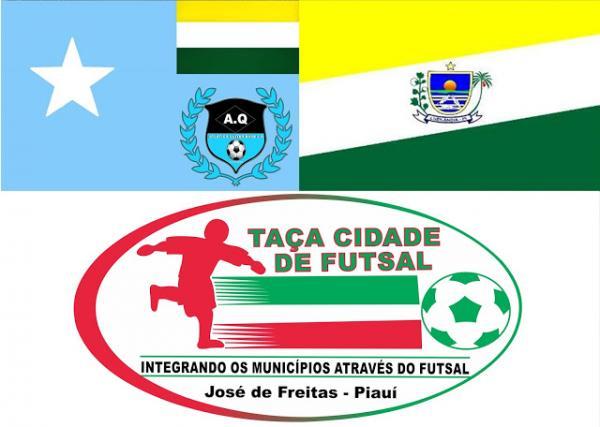 Luzilândia enfrenta Santa Quitéria na XVIII Taça Cidade de Futsal 2017